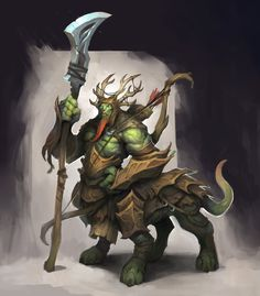ArtStation - Warlords of Draenor Fara Concept, Ryan Metcalf