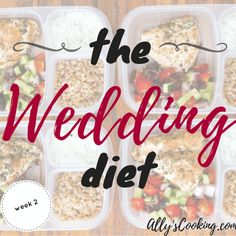 The Wedding Diet: Week 2