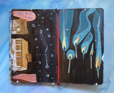 Missy H. Dunaway: Photo of sketchbook page Mhdunaway.tumblr.com