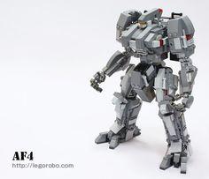 Instructions to build Lego Robot AF4