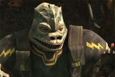 Krix fut l'un des seuls Trandoshans survivants du groupe de Garnac lors de la Guerre des Clones.