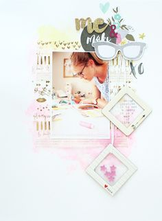 Make & Me - layout with the GB Oktoberkit - Scrap Sweet Scrap - currently under reconstruction