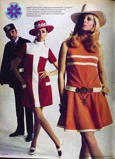 Australian women's Weekly Swinging sixties ad