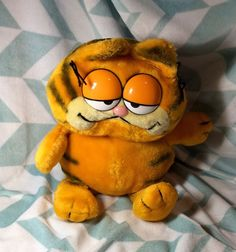 Garfield Plush 1978 1981 Vintage Fun Farm Stuffed Animal Cat Toy Collectible #FunFarm