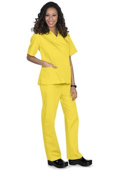 FASHION NURSE MEDICAL UNIFORM SCRUBS SET TOP | Best ...
