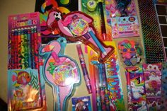 Lisa Frank...loved this when I was younger...I think I would still buy this for myself...lol