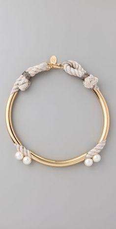 3.1 Phillip Lim Tubular Bianca Necklace Style #:PHLII20021 $175.00