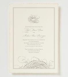 Devin Wedding Invitation - Elegant Wedding Invitation