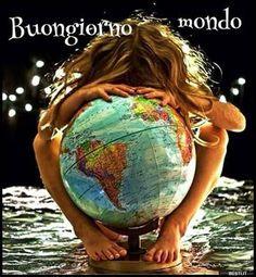 Buongiorno mondo | BESTI.it - immagini divertenti, foto, barzellette, video Earth Overshoot Day, Environmental Issues, Good Morning, The Darkest, Nature, Pane, Origins, Video, Lovers