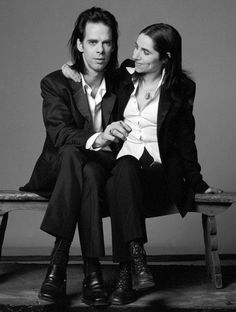 Nick Cave and PJ Harvey.- Nick Cave and PJ Harvey. Bea… Nick Cave and PJ Harvey. Beautiful and full of talent. Nick Cave, Susie Cave, Music Is Life, My Music, Blues, The Bad Seed, New Wave, Music People, Music Icon