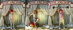 Circus photoshoot cute name sign.. aww i can so do this!! must try some time in the summer
