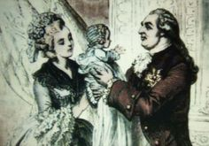 King Louis XVI embracing Marie Therese Charlotte, 1778