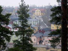 Porvoo Borgå from other side of the river.