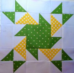 Block made for Bev's Triangle quilt Quilting Tips, Quilting Tutorials, Quilting Projects, Quilting Designs, Sewing Projects, Colchas Quilt, Quilt Blocks, Scrappy Quilts, Half Square Triangle Quilts
