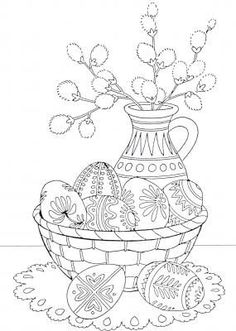 Adult Coloring Pages Easter Lovely Pin by Martha Flora On Kifestők Easter Egg Coloring Pages, Spring Coloring Pages, Free Coloring Pages, Coloring Books, Easter Art, Easter Crafts, Easter Printables, Easter Colors, Easter Activities