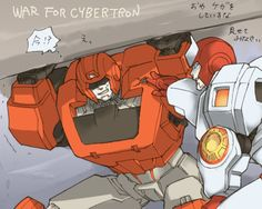 Ironhide and Ratchet