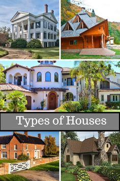 Different Types of Houses Download