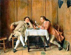La Confidence, 1857 - Jean-Louis Ernest Meissonier