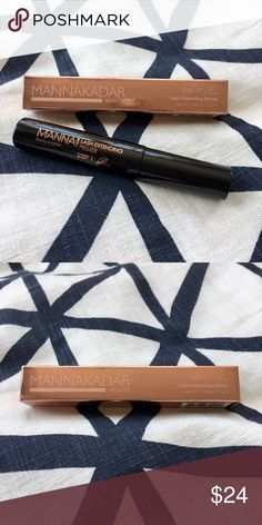 Manna Kadar Beauty Lash Extending Primer Naturally lengthens and bulks up your lashes for a full and luscious look. The creamy formula features proteins to fortify hair follicles and hydrates lashes for a soft texture. Also, prevents mascara from flaking and adds volume. As an added bonus, this Lash Primer can be worn by it's self at night as a  ● Dry's completely clear ● *NEVER USED* Manna Kadar Cosmetics Makeup Eye Primer