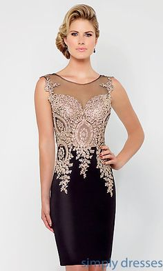 Shop short formal dresses and short dresses for formal events at Simply Dresses. Short cocktail dresses, short gala dresses, short formal wedding-guest dresses, and short party dresses for formals. Prom Dresses 2015, Gala Dresses, Sexy Dresses, Short Dresses, Party Dresses, Dress Party, Party Wear, 1950s Dresses, Prom Gowns