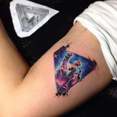 #armtattoo by @adrianbascur /// #⃣#Equilattera #Tattoo #Tattoos #Tat #Tatuaje…
