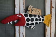Here Fishy Fishy ... Sheldon by buttuglee on Etsy