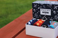 The brand new Space Socks Collection by Moustard London! If you are fascinated by the vast space, astronomy and exploration this product might be for you! Space Socks, Buy Socks, Astronomy, Your Favorite, Cool Stuff, Stuff To Buy, Presents, London, Box