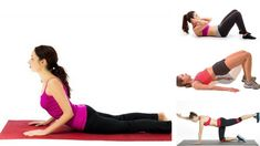 Do you want to relief from your back pain? These easy to do and simple to implement exercises can help! Easy Workouts, Back Pain, Health Tips, Rid, Exercises, How To Get, India, Simple, Easy Fitness