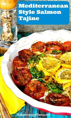 Mediterranean Style Salmon Recipe