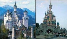 """Le château de la """"Belle au bois dormant"""" de Disney est fortement inspiré d'un véritable château : - SCMB Images"""