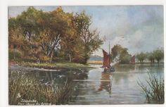 Shiplake from Above The Island, Tuck 6423 Postcard, B289 | eBay