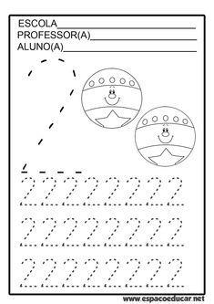 Atendendo a pedidos, atividades de coordenação motora fina com numerais de 0 a 9 grátis para você imprimir!           ...