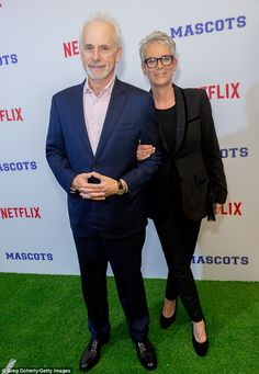 Aristocrats: The My Mommy Hung the Moon author and her British Baron husband Christopher Guest will celebrate their 32nd wedding anniversary on December 18 (pictured October 5)