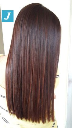 It's a kind of magic _ Degraded Joelle # De. It's a kind of m Pretty Hair Color, Hair Color And Cut, Hair Color Dark, Brown Hair Colors, Brown Ombre Hair, Brown Hair Balayage, Hair Highlights, Hair Color Auburn, Dark Auburn