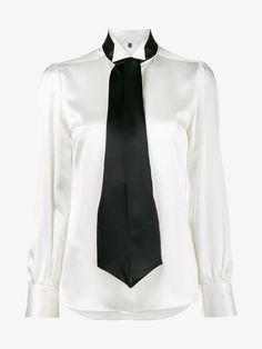 BELLA FREUD MARLENE SILK-SATIN SHIRT. #bellafreud #cloth #