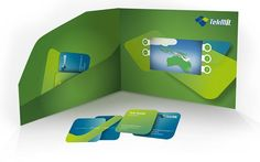 Video brochure / business cards / TekMiL Oy /
