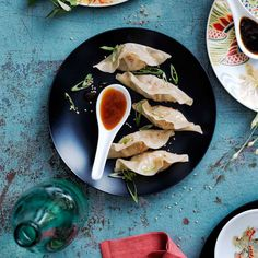 Making dumplings from scratch is easier than you might think, especially if you take advantage of purchased dumpling wrappers and one of our prepared dipping sauces. You can find dumpling wrappers ...
