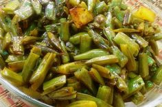 Gowarichya shengachi bhaji (Stir fried cluster beans) Stir fried vegetables are a healthy main course dish that changes according to the availability during different seasons through the year. Cluster bean is one such vegetable which grows well in semi-arid climate. Its seeds are the source of the famous guar gum. http://secretindianrecipe.com/recipe/gowarichya-shengachi-bhaji-stir-fried-cluster-beans