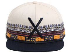 Larger Living Dashiki Snapback Cap by 10 DEEP