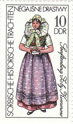 German Stamps, East Germany, Vintage Stamps, Historical Costume, Poster, Disney Characters, Fictional Characters, Aurora Sleeping Beauty, Costumes