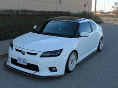 Front Splitter for Scion Tc with RS style lip Toyota Scion Tc, 2012 Scion Tc, Scion Cars, Lips, Bmw, Black, Style, Cars, Hipster Stuff