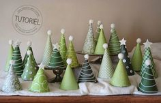Paper Christmas Tree Advent Calendar tutorial -- Would fit in nicely with our decor. Maybe next year. Christmas Tree Advent Calendar, Mini Christmas Tree, Christmas Countdown, Homemade Christmas, Christmas Holidays, Christmas Decorations, Christmas Ornaments, Christmas Paper, Tree Decorations