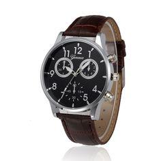 >> Click to Buy << Hot Sale Fabulous Retro Design Leather Band Analog Alloy Quartz Wrist Watch Drop Shipping wholesale Dec06 #Affiliate
