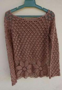 Fabulous Crochet a Little Black Crochet Dress Ideas. Georgeous Crochet a Little Black Crochet Dress Ideas. Gilet Crochet, Crochet Cardigan Pattern, Crochet Jacket, Crochet Blouse, Knit Crochet, Knitting Patterns, Crochet Patterns, Crochet Jumpers, Crochet Bodycon Dresses