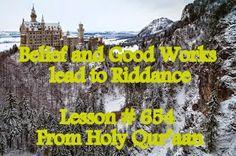 The Creator, His Caliph and Satan (Allaah, Aadamii awr ibliis): Belief and Good Works lead to Riddance