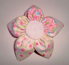 Flor de fuxico pétala em cone, como costurar à mão