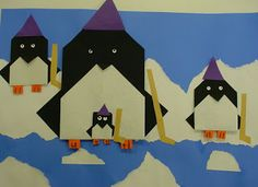 This blog has cute origami art projects for kids.