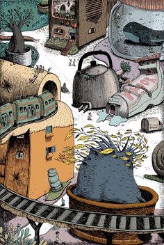 Mariano Diaz Prieto ilustracion: Mondo Babosa