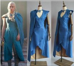 Vestido com Capa Game of Thrones Daenerys Targaryen