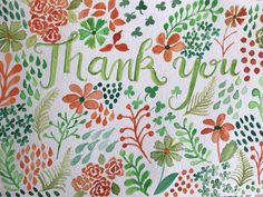 Thank you pattern by Joshy